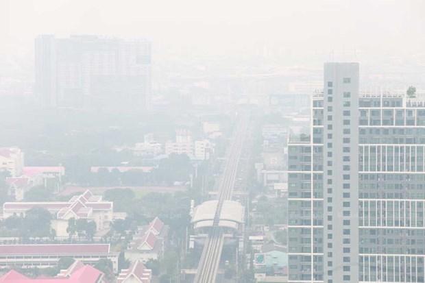 Polucion del aire amenaza capital de Tailandia hinh anh 1