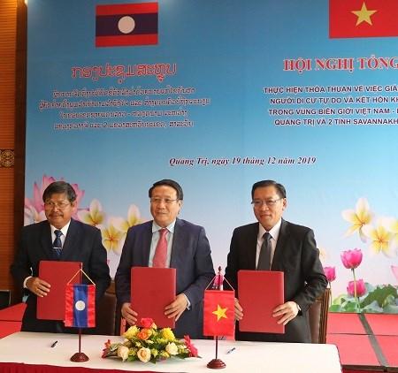 Refuerzan provincias fronterizas de Vietnam y Laos control de la migracion hinh anh 1