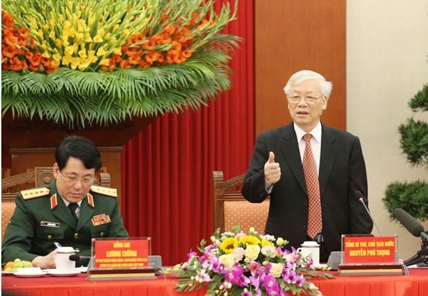 Ejercito Popular de Vietnam: Gloriosa historia bajo la antorcha del Partido Comunista hinh anh 1