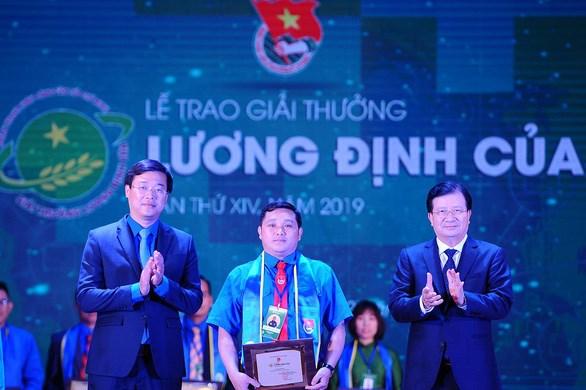 Entregan premio Luong Dinh Cua 2019 hinh anh 1