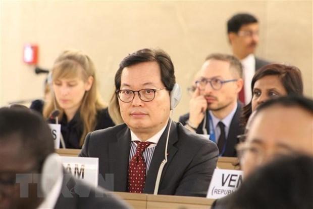 Reitera Vietnam compromiso de contribuir al Foro Mundial sobre los Refugiados hinh anh 1