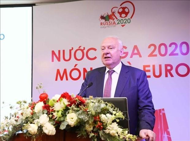 Presentan en Hanoi productos turisticos de Rusia en Eurocopa 2020 hinh anh 1