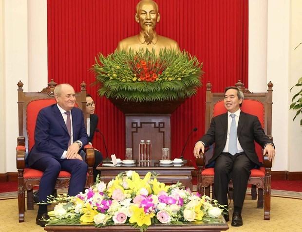 Reiteran respaldo a cooperacion entre Gazporm y socios vietnamitas hinh anh 1