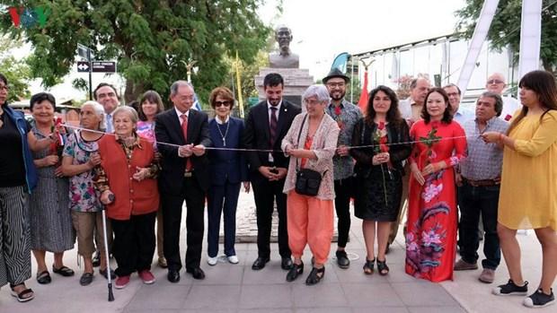 Remodelan parque en honor al Presidente Ho Chi Minh en Chile hinh anh 1