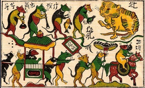 Preparan documentos para solicitar reconocimiento de UNESCO a pintura folclorica de Dong Ho hinh anh 1
