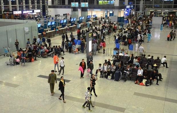 Atendera aeropuerto Tan Son Nhat a mas de 3,7 millones de pasajeros durante Tet hinh anh 1