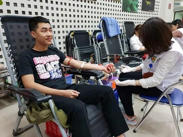 Proyecta provincia altiplanica de Dak Lak recolectar 21 mil 400 unidades de sangre en 2020 hinh anh 1