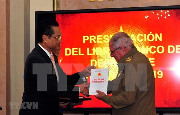 Presentan en Cuba Libro Blanco de Defensa de Vietnam 2019 hinh anh 1