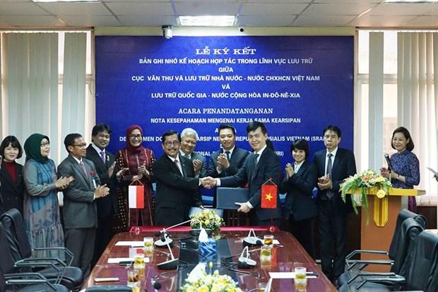Impulsan Vietnam e Indonesia cooperacion en archivo hinh anh 1