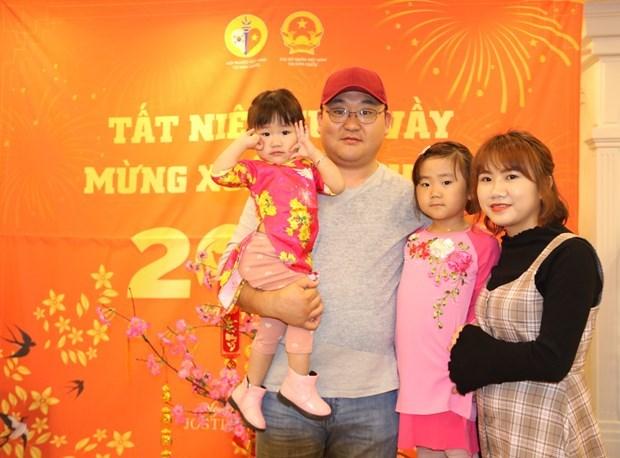 Vietnamitas en Corea del Sur celebran fiesta tradicional del Tet hinh anh 1