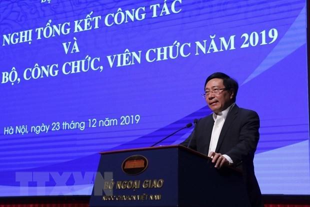 Se prepara Vietnam para la presidencia de ASEAN y misiones internacionales en 2020 hinh anh 1