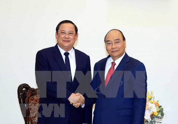Vietnam dispuesto a enviar expertos para apoyar a Laos, afirma su primer ministro hinh anh 1