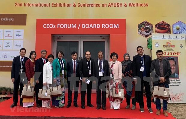 Promueven la cooperacion entre Vietnam y la India en medicina tradicional hinh anh 1