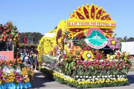 Festival de Flores de Da Lat concluye con exito hinh anh 1