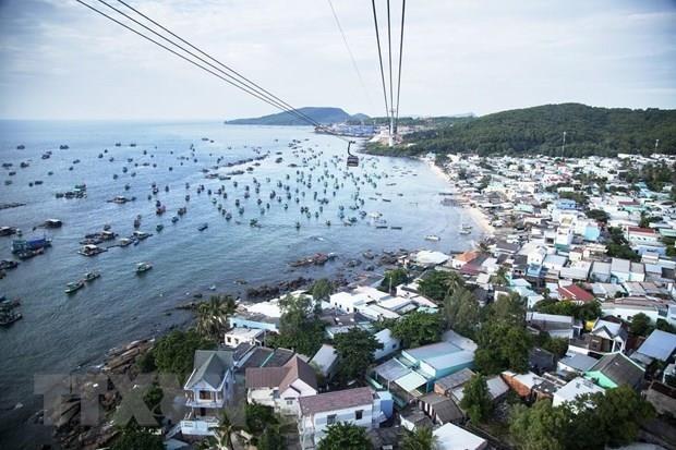 Provincia vietnamita de Kien Giang mejora sus areas turisticas hinh anh 1