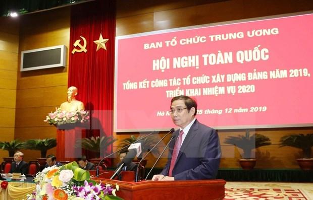 Partido Comunista de Vietnam cuenta con mas de 143 mil nuevos miembros en 2019 hinh anh 1
