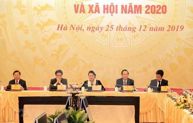 Pide maxima legisladora de Vietnam garantizar apoyo a personas con meritos revolucionarios hinh anh 1