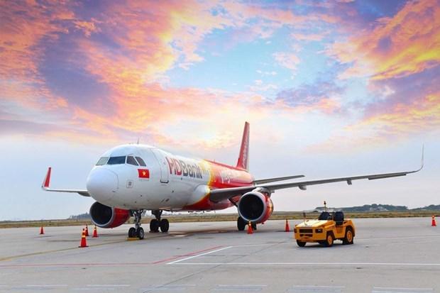 Inaugura aerolinea vietnamita Vietjet Air nueva ruta a polo turistico tailandes hinh anh 1