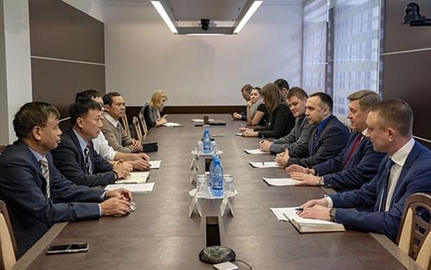 Oblast rusa de Novosibirsk busca fomentar cooperacion con localidades vietnamitas hinh anh 1