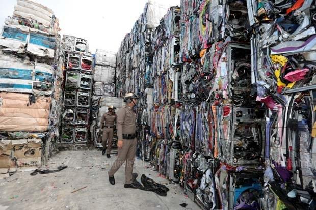 "Tailandia dice ""no"" a desechos electronicos hinh anh 1"