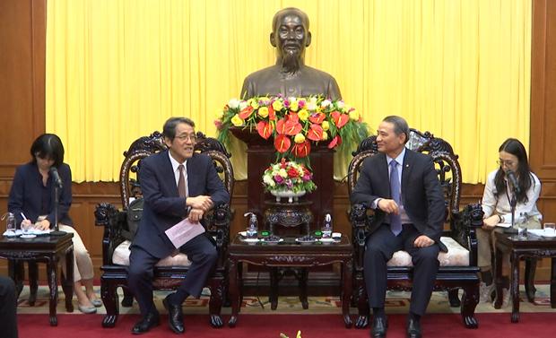 Fortalecen la cooperacion entre ciudad vietnamita de Da Nang y Japon hinh anh 1