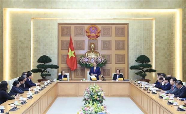 Promete premier de Vietnam mayores preferencias a pequenas y medianas empresas hinh anh 1