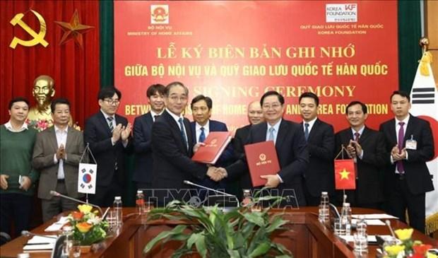 Promueven intercambio juvenil entre Vietnam y Corea del Sur hinh anh 1
