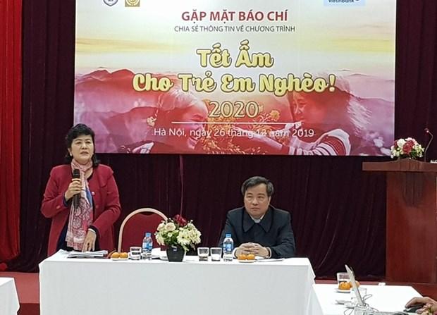 Brindaran un Tet calido para ninos necesitados en Vietnam hinh anh 1