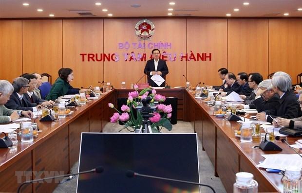 Instruye vicepremier de Vietnam diseno de planes monetarios y financieros hinh anh 1