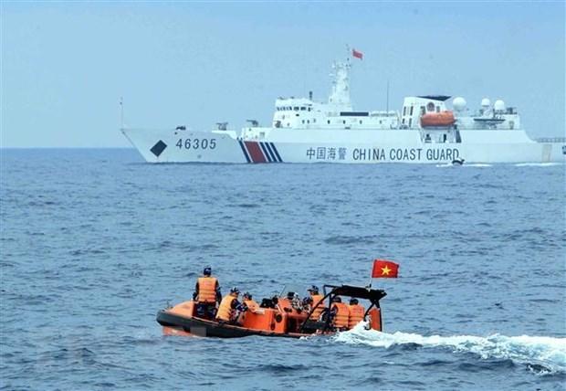 Mantienen Vietnam y China negociaciones sobre asuntos relacionados con el mar hinh anh 1