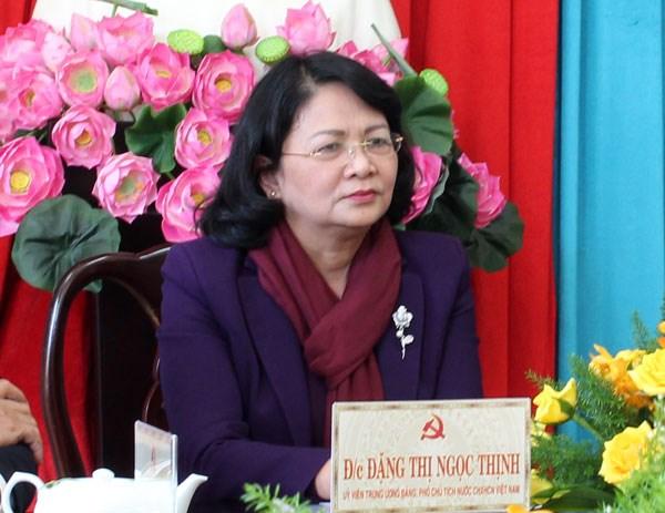 Recorre vicepresidenta vietnamita ciudad de Bao Loc hinh anh 1