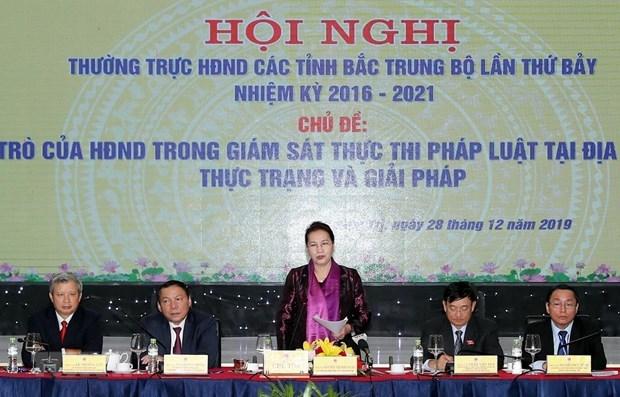 Consolidan rol de Consejos Populares en supervision de aplicacion de la ley hinh anh 1