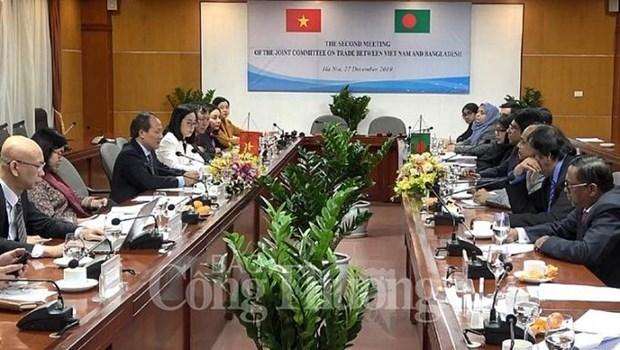 Debaten medidas para elevar intercambio comercial entre Vietnam y Banglades hinh anh 1