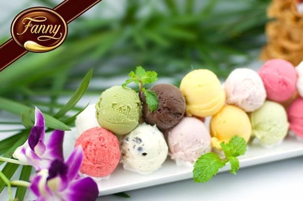El arte de elaborar helados en Vietnam hinh anh 1