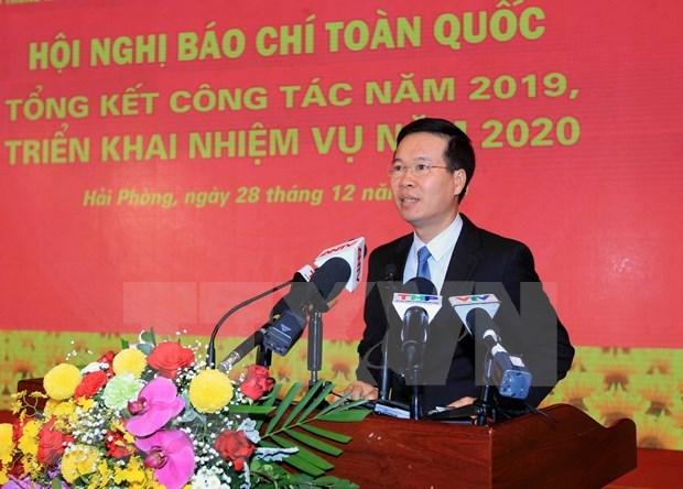 Destacan aportes de prensa a exitos del desarrollo socioeconomico nacional hinh anh 1