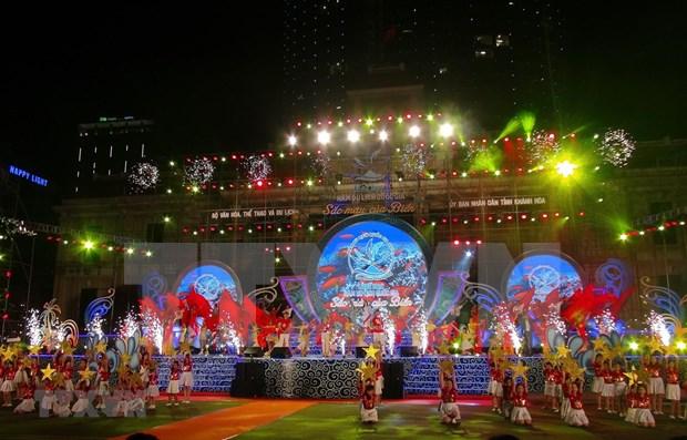 Culminan Ano del Turismo Nacional en Khanh Hoa hinh anh 1
