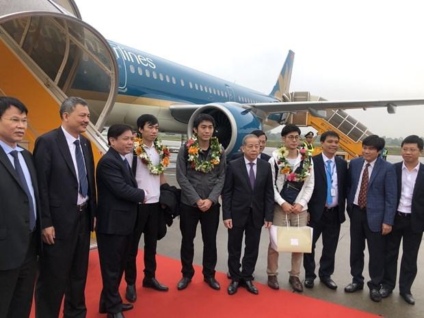 Vietnam registra incremento alentador de viajeros por vias aereas hinh anh 1