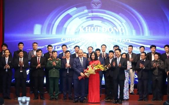 Lanzan programa de formacion de expertos para gobierno cibernetico en Vietnam hinh anh 1