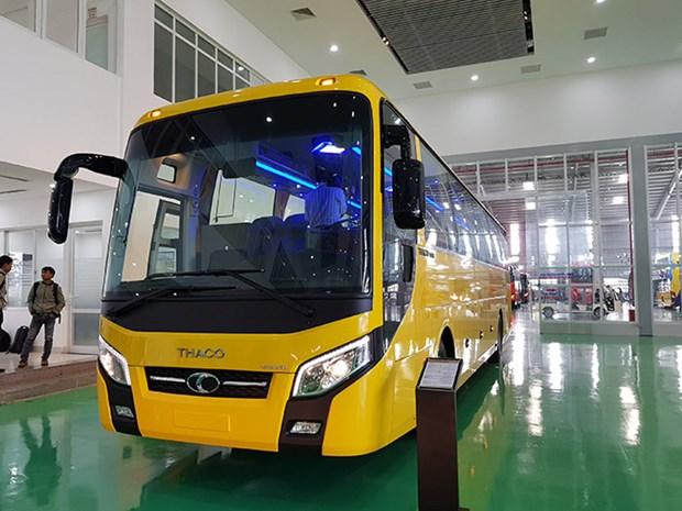 Exporta empresa vietnamita THACO autobuses a Filipinas hinh anh 1