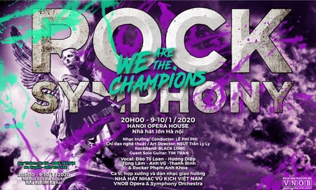 Celebrara Vietnam a sus campeones deportivos con programa de rock y musica clasica hinh anh 1