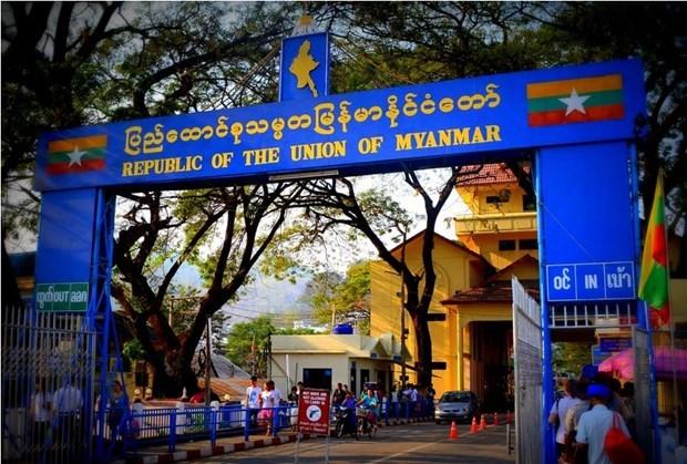 Sube comercio transfronterizo de Myanmar hinh anh 1