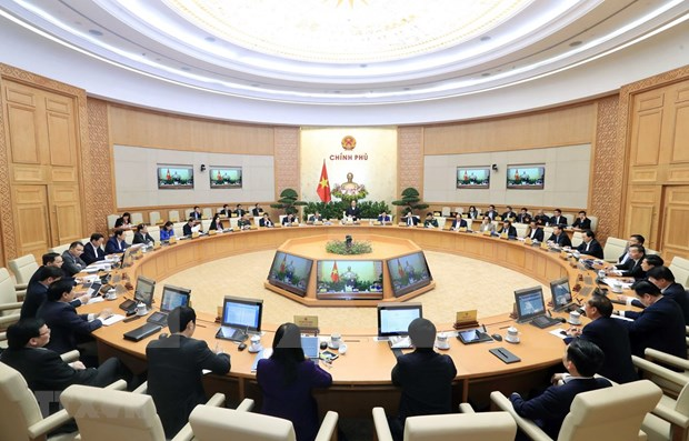 Centra gabinete de Vietnam ultima reunion del ano en perfeccionamiento de marco legal hinh anh 1