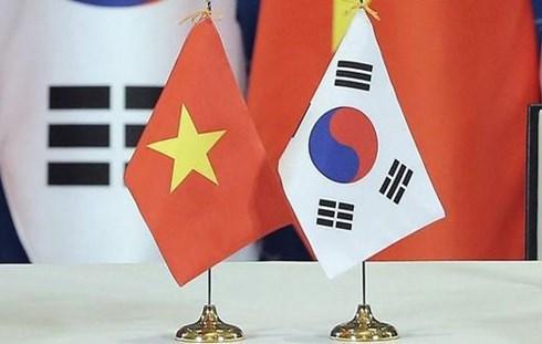 Efectuan espectaculo musical de Vietnam y Corea del Sur hinh anh 1