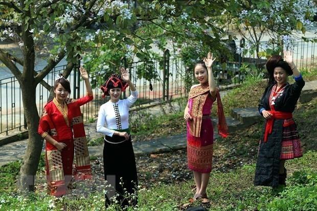 Efectuan en Hanoi numerosas fiestas de minorias etnicas hinh anh 1