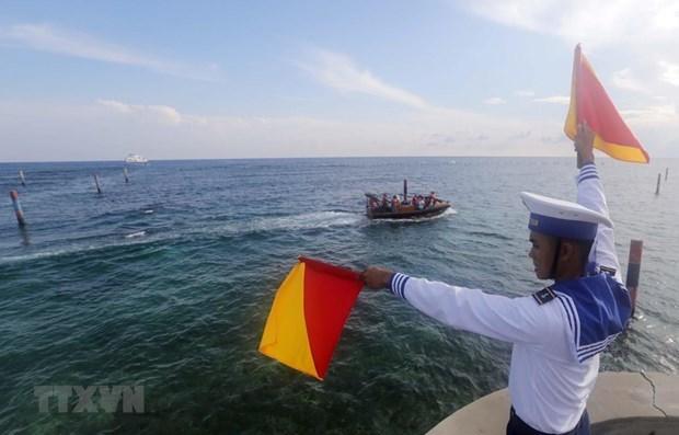 Entra Vietnam en el nuevo ano con confianza y firmeza hinh anh 1
