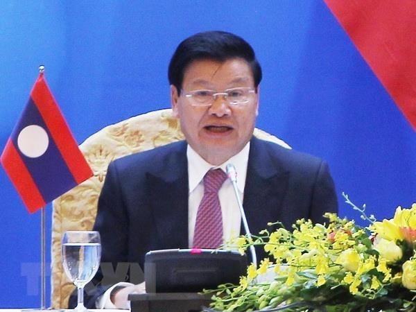 Visita a Vietnam del premier laosiano busca intensificar gran amistad binacional hinh anh 1