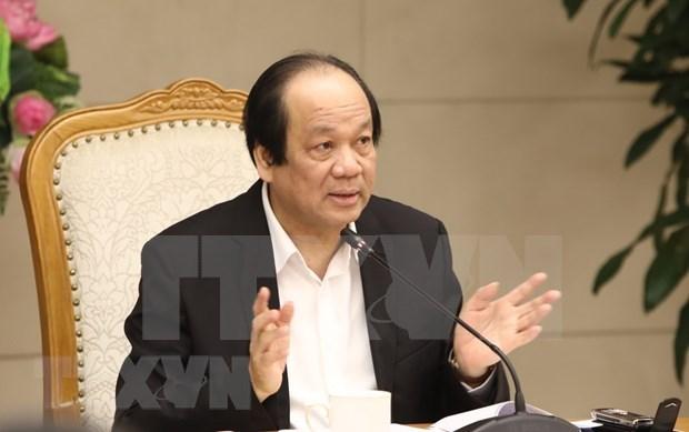 Realizan primera sesion de la bolsa de valores de Vietnam en 2020 hinh anh 1