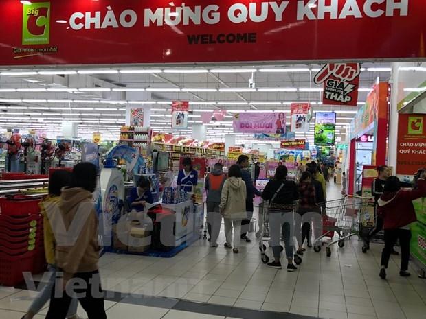 Alcanzan ventas minoristas en Vietnam un maximo de cuatro anos hinh anh 1