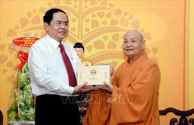 Elogian en Vietnam contribucion de seguidores budistas a construccion nacional hinh anh 1