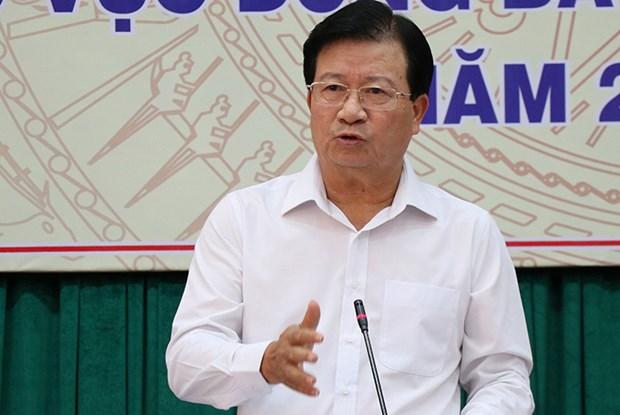 Insta vicepremier de Vietnam a buscar soluciones a largo plazo para sequia y salinizacion hinh anh 1